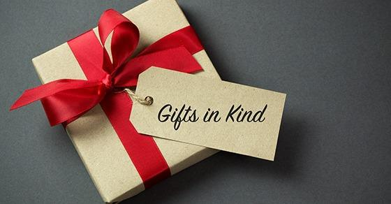 Gifts in Kind: New Reporting Requirements for Nonprofits Image
