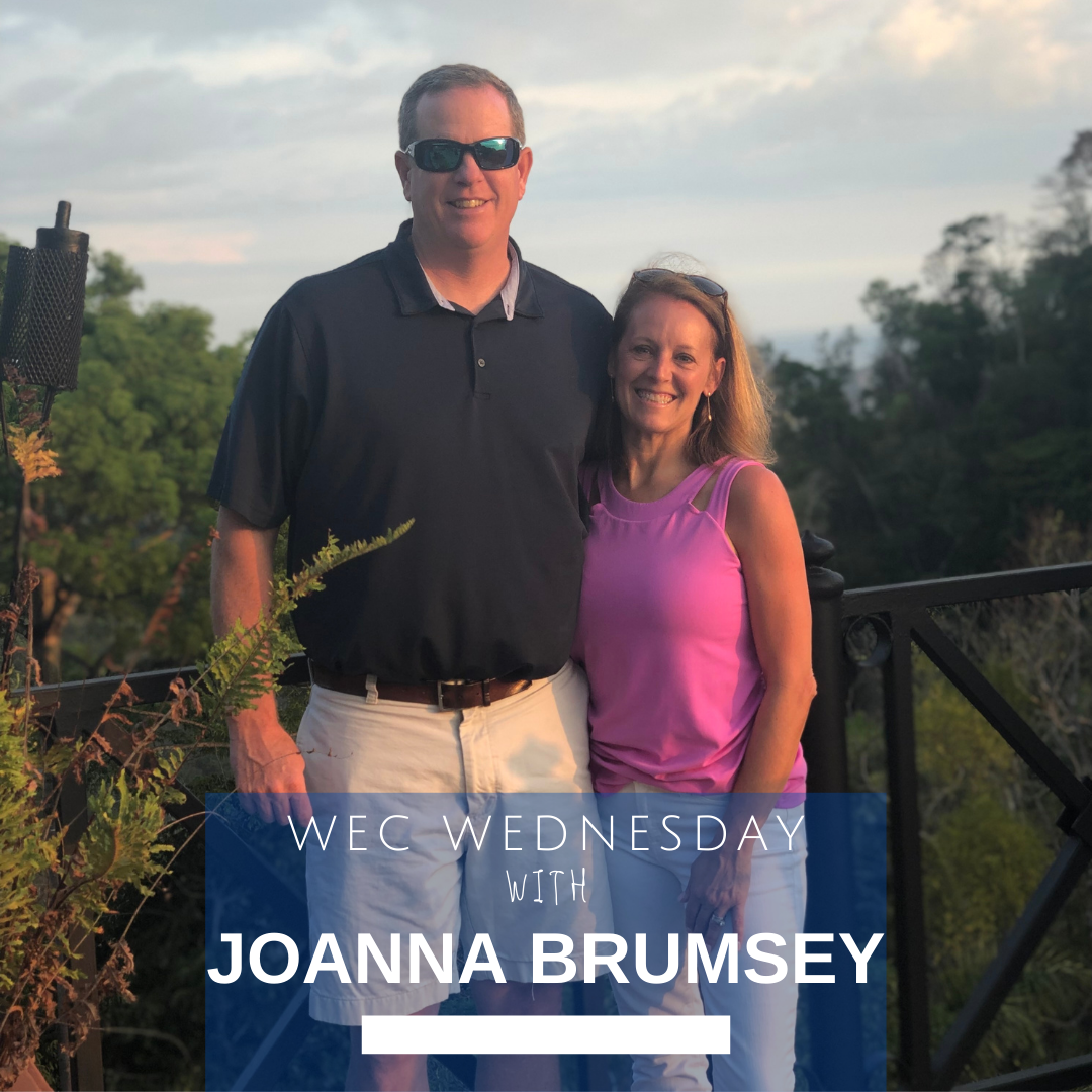 WEC Wednesday's Beyond the Desk with Joanna Brumsey
