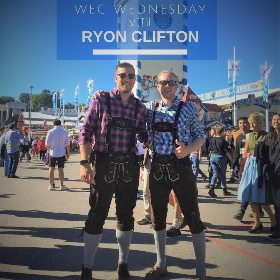 WEC Wednesday's Beyond the Desk with Ryon Clifton Image