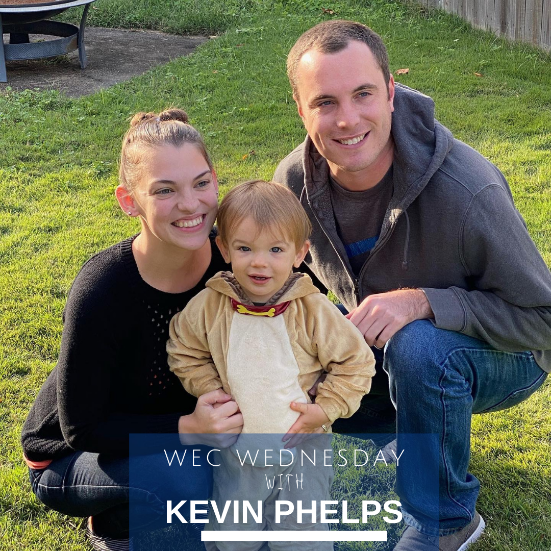 WEC WEDNESDAY'S BEYOND THE DESK WITH Kevin Phelps Image