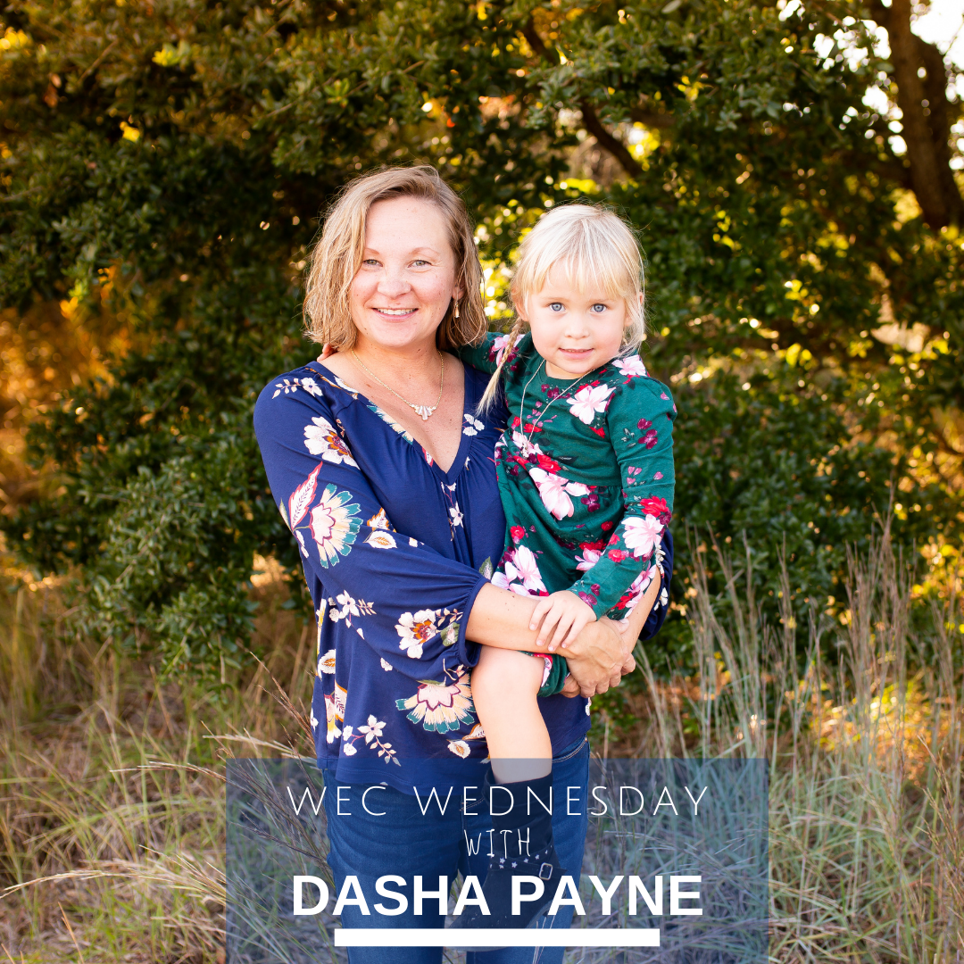WEC Wednesday's Beyond the Desk with Dasha Payne